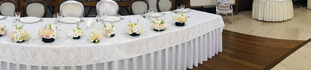 dekoracje slubne - stol pary mlodej