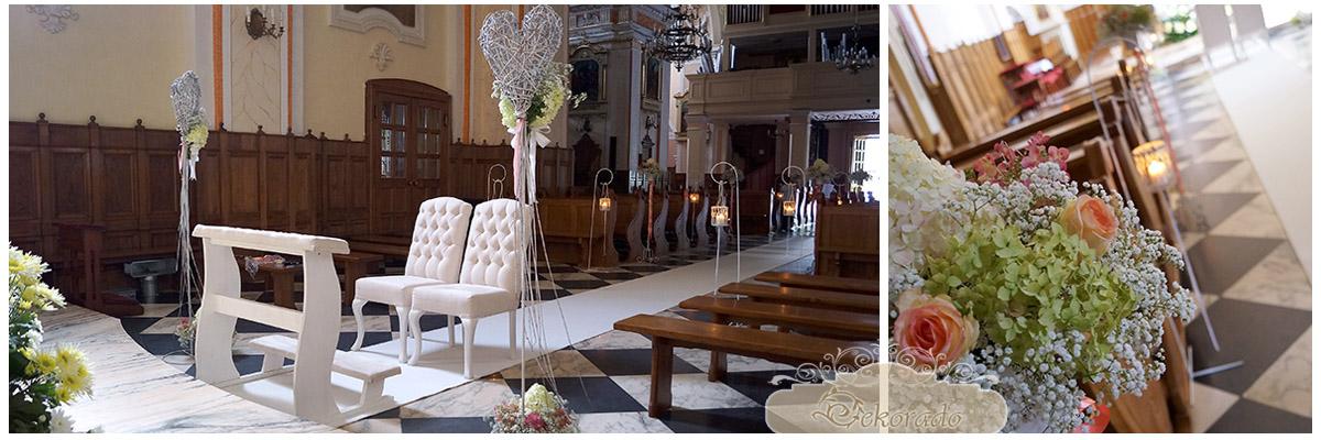 Bielsko - Biała - dekorowanie kościołów