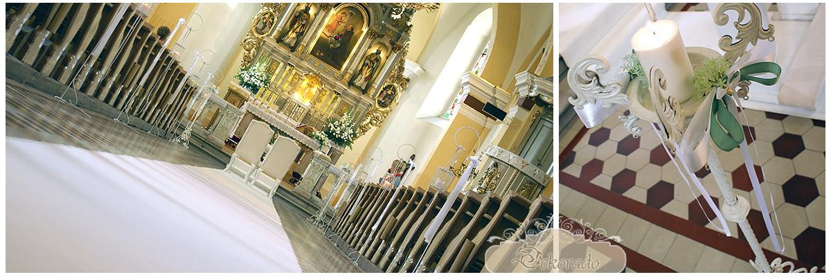 Dekrowanie kościoła - Tarnowskie Góry