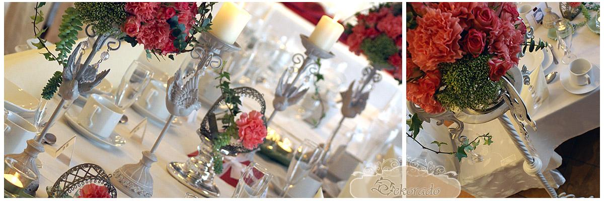 dekoracja sali weselnej - krakow - 2