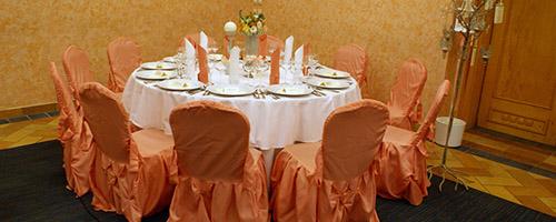 Jaworze, Bielsko-Biała - dekoracja sali weselnej