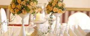 Dekoracje sal weselnych w Opolu