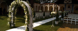 Ślub w plenerze - dekoracje w Krakowie