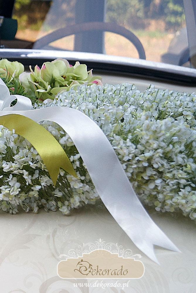 Dekoracja auta do ślubu - Gliwice