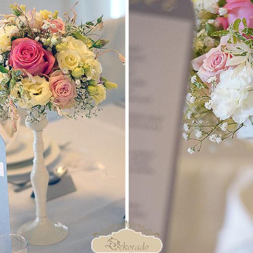 Dekorowanie sali weselnej