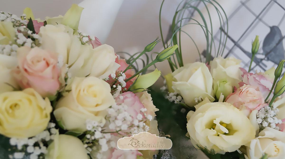 Dekoracja sali weselnej - Skoczów